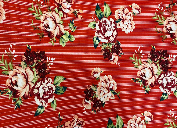 Stripe and Floral- Bolero two side brush