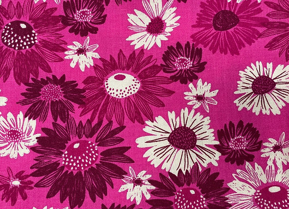 Pink Flowers Cotton