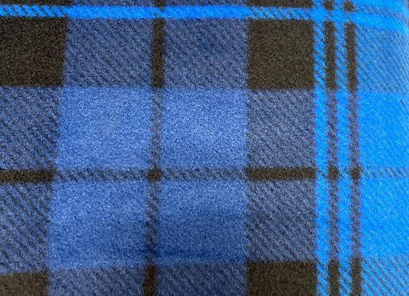 Blue Plaid Fleece