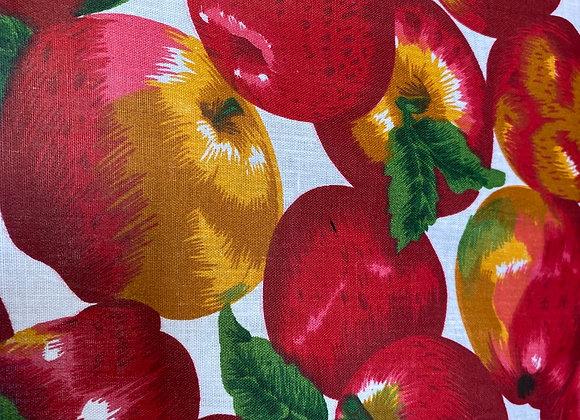 Apple poly cotton print