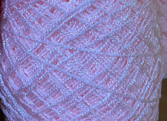 Light Pink Crystal Yarn
