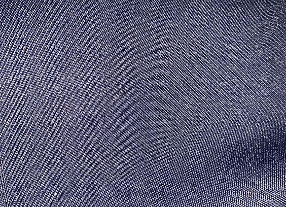 Navy Blue Poly Poplin