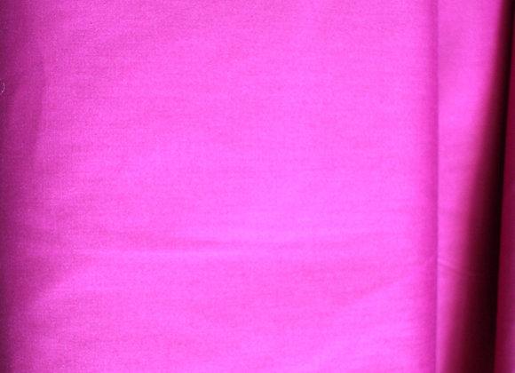 Fiusha Pink Poly Cotton