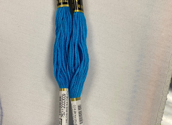 Blue Embroidery Floss (484)