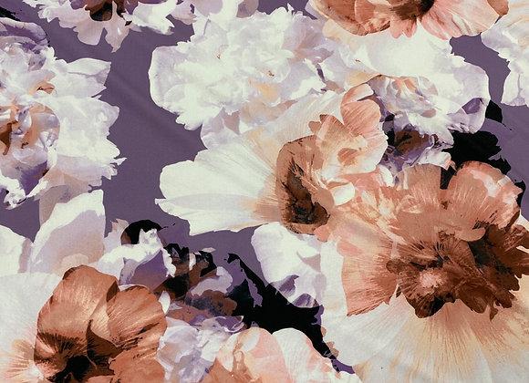 Large Flower Print Lycra