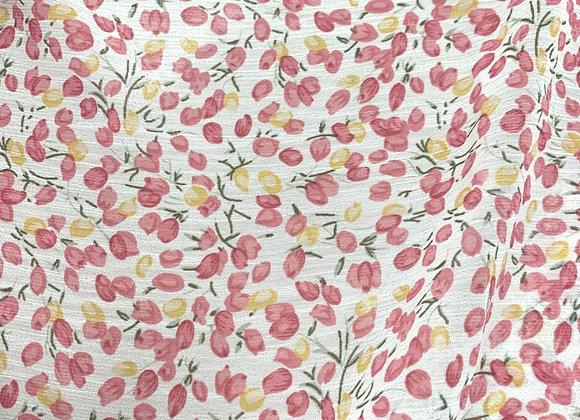 Chiffon Yellow & Pink