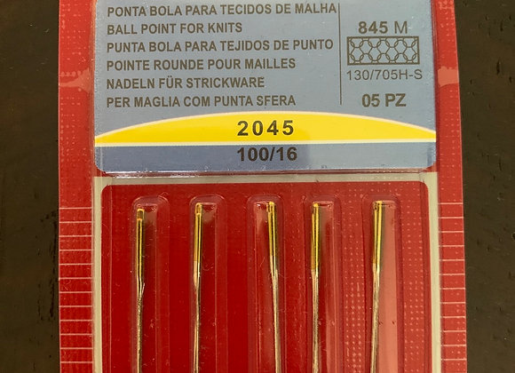 Ball Point For Knits 100/16