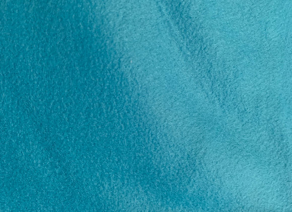 Aqua Anti Pill Fleece Fabric Solids