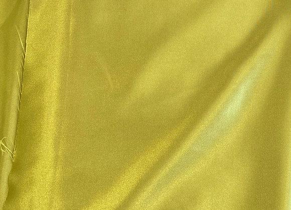 Yellow green Satin