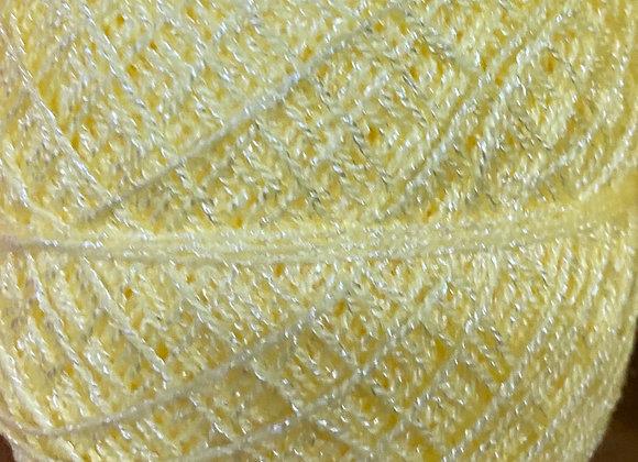 Pastel Yellow Crystal Yarn