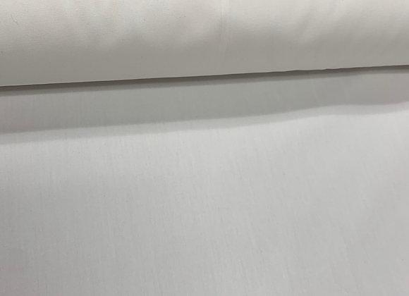 White 100% Cotton (60in Wide )