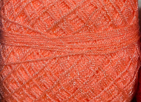 Peach Crystal Yarn