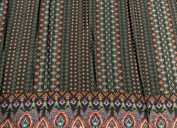100% Polyester Printed Crepe