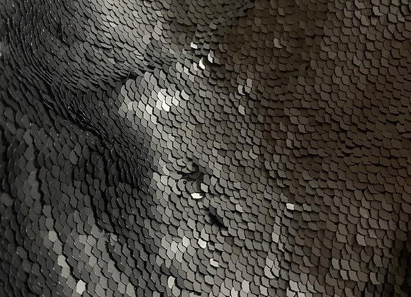 Black Sequin Fabric