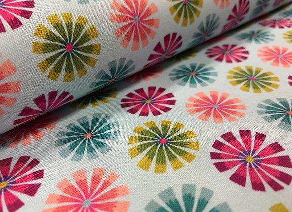 Forest Frolic Pinwheels 100% Cotton