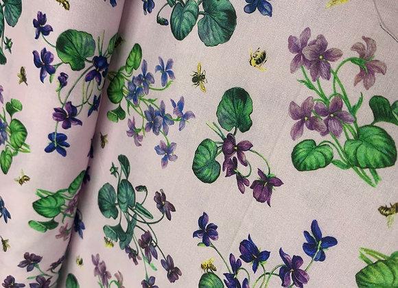 Chelsea African Violet 100%Cotton