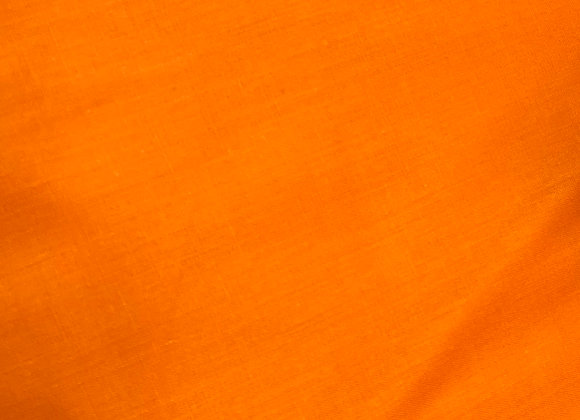 Orange poly cotton