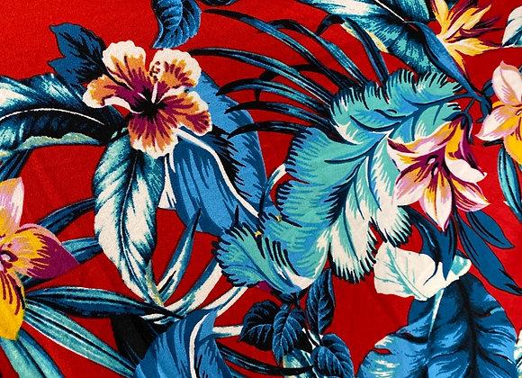 Red hawaiian - Bolero two side brush