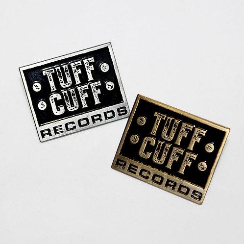Tuff Cuff Records Heavy Metal Pins