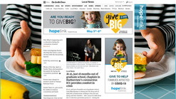 """SeattleTimes.com """"Takeover"""" ad campaign for GiveBIG"""