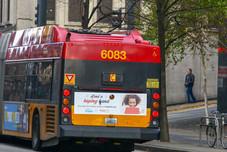 Bus ads (exterior)