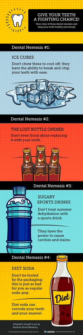 Your Dental Nemesis - Infographic