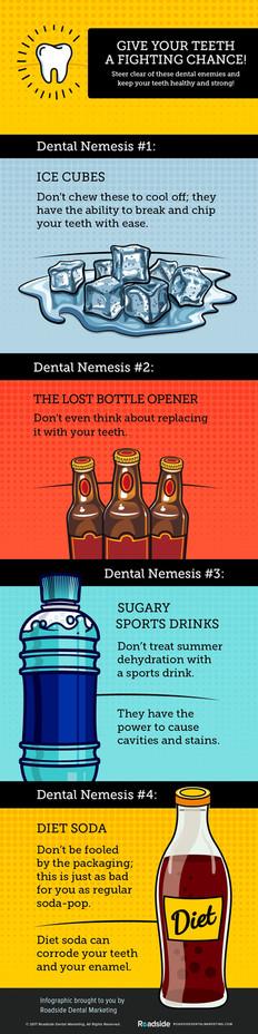 Your Dental Nemesis - Infographic