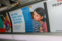 Bus ads (interior)