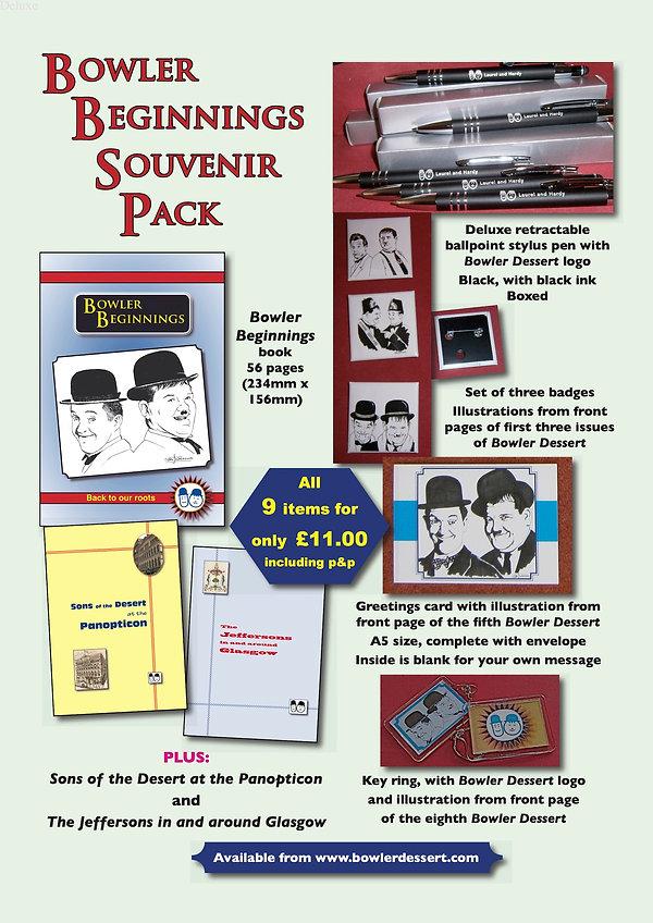 Bowler Beginnings SOUVENIR PACK advert.j