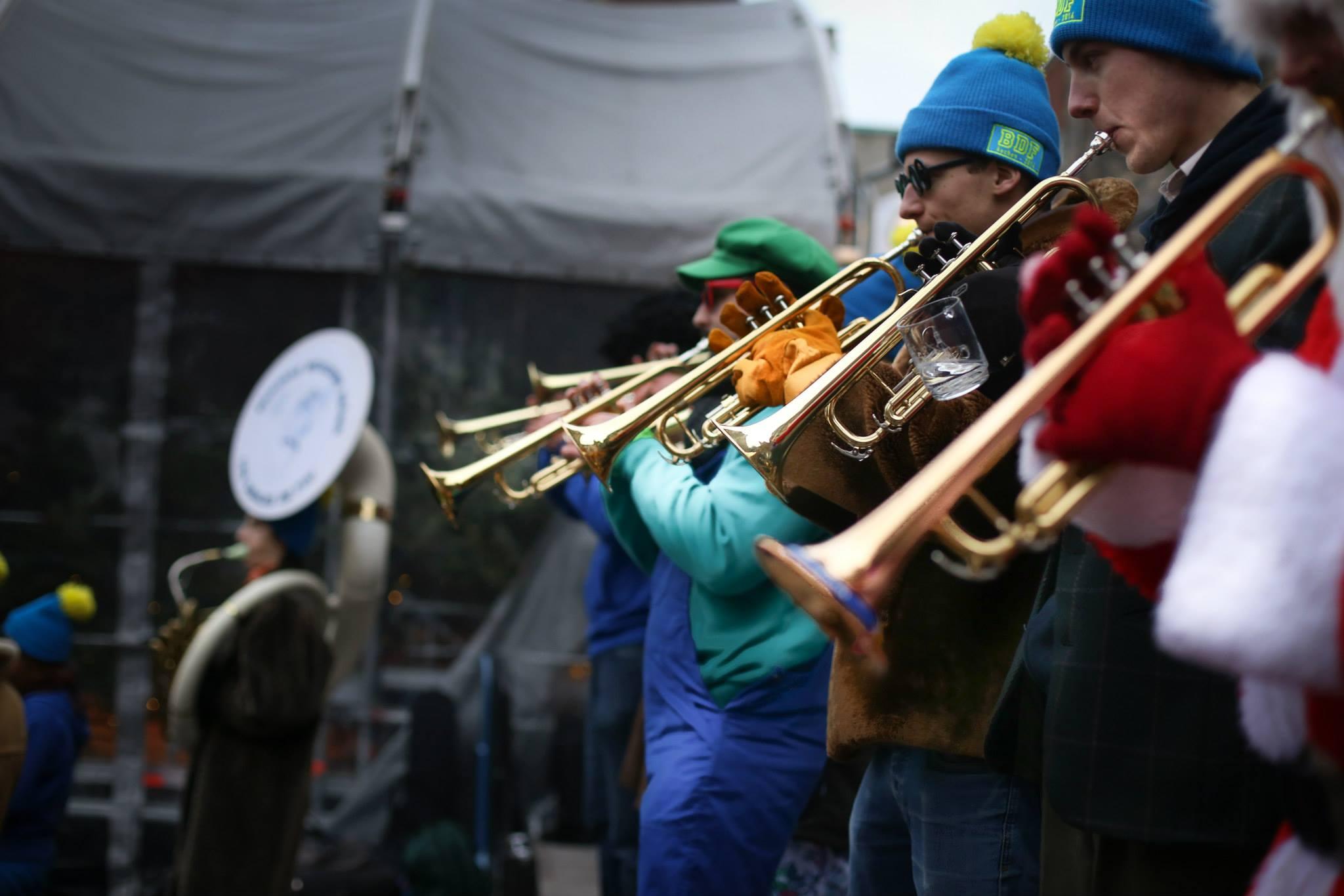 Une véritable armée de trompettes !