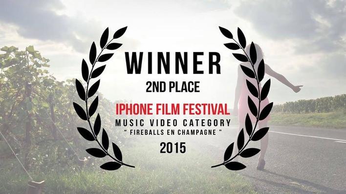 Les BDF récompensés à l'Iphone Film Festival