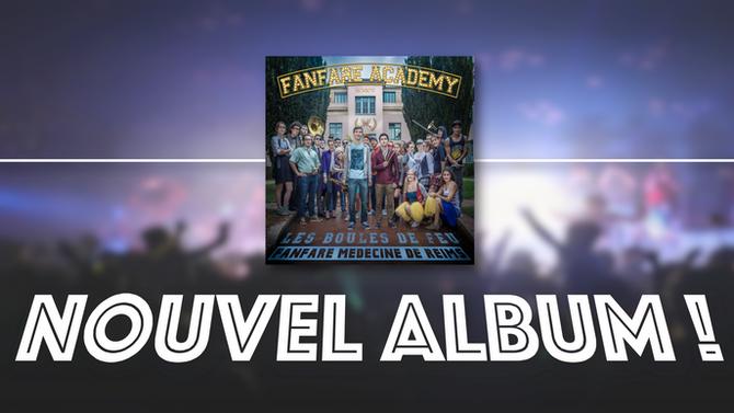 Nouvel Album dans les bacs !