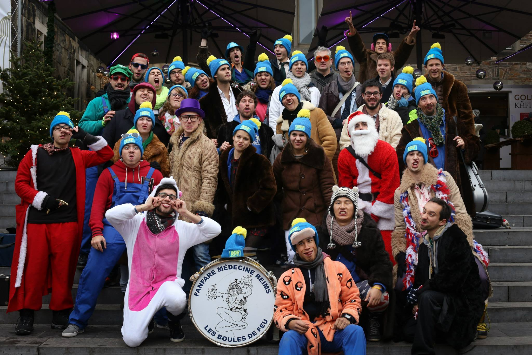 Les BDF fêtent noël en Allemagne