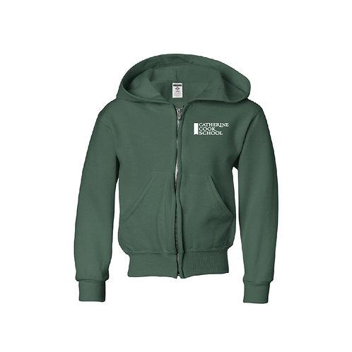 Full Zip Forest Sweatshirt