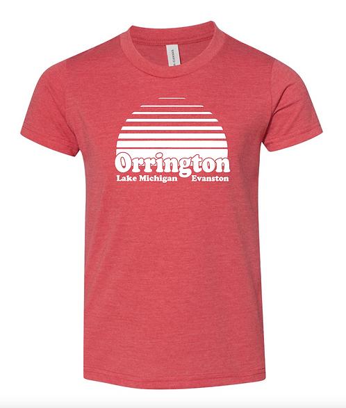 Orrington Rise Tee-Red