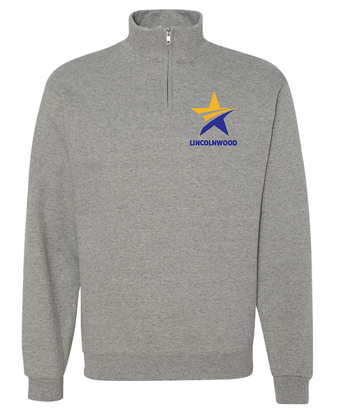 Oxford Quarter Zip-Adult Only