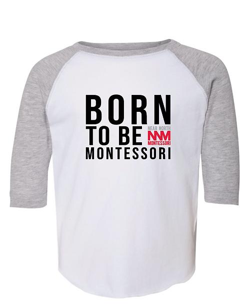 Born To Be Baseball Tee