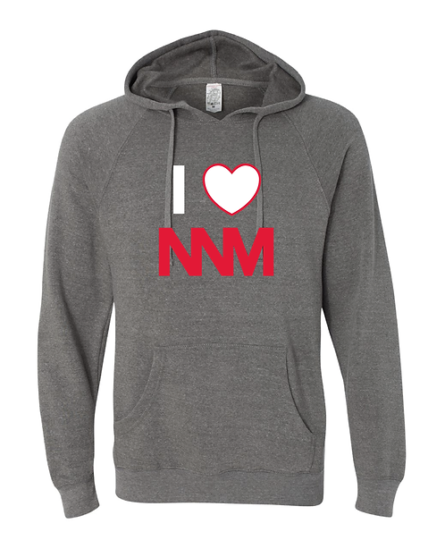 I Heart Sweatshirt-Grey