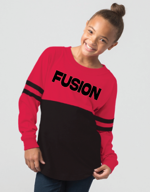 Youth FUSION Pom Jersey