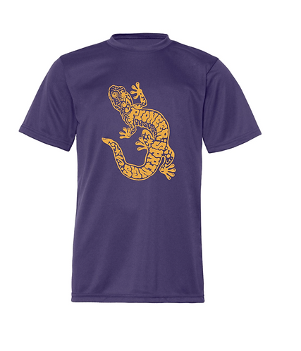 PSCS Dry Fit Performance Tee Purple