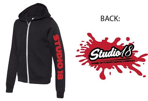 Studio 18 Full Zip Sweatshirt