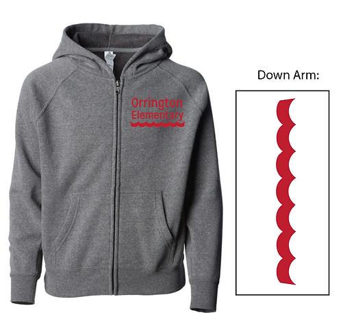 Orrington Soft Blend Zip Up Sweatshirt