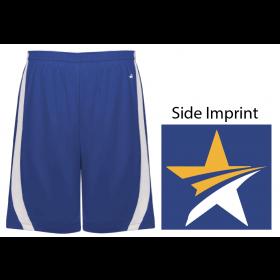 Slam Shorts - Blue and White
