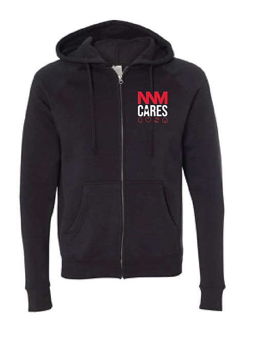 Black NNM Cares Zip-Up