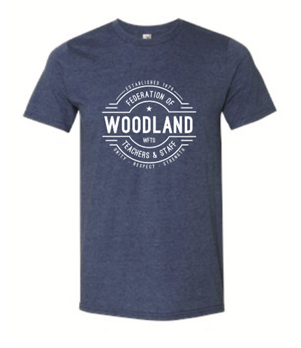 Woodland Unisex Lightweight T-Shirt