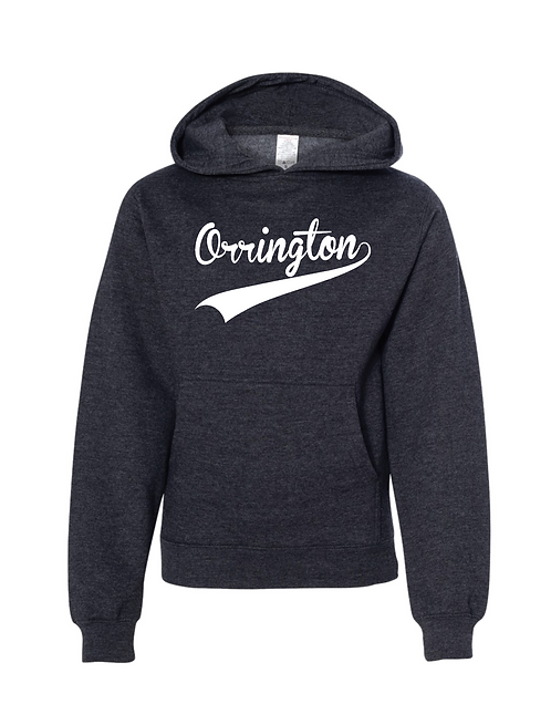 Orrington Hooded Sweatshirt-Charcoal