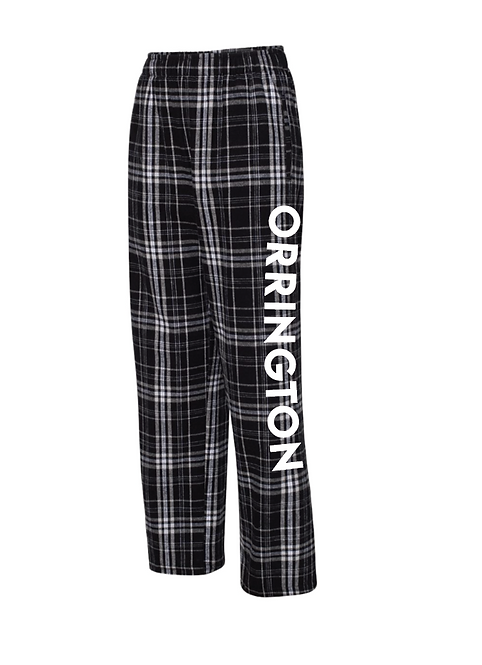 Flannel Pants - Black
