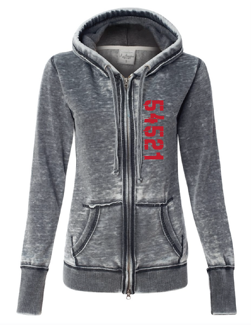 Marimeta Zen Full Zip Sweatshirt
