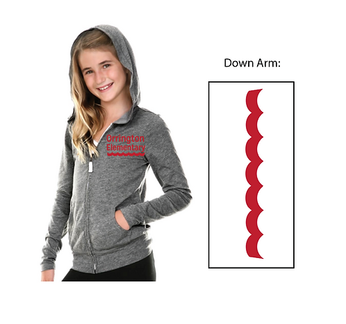 Orrington Lightweight Girls Sweatshirt