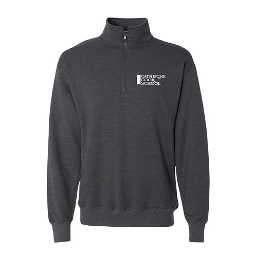 Adult Dark Grey Quarter Zip